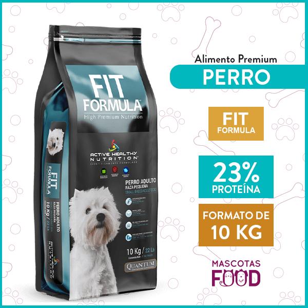 Alimento Perro Adulto Fit Formula Raza Pequeña 10 KG 1