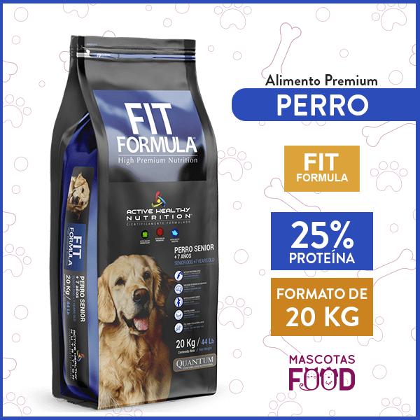 Alimento Perro Senior Fit Formula Raza Mediana y Grande 20 KG 1