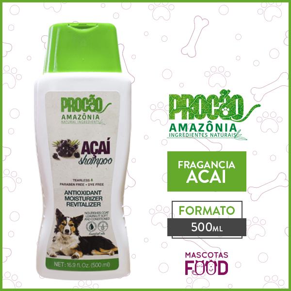 Shampoo para perros ACAI 1