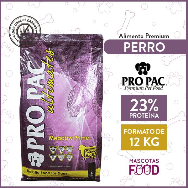 Alimento Perro Estómagos Sensibles Pro Pac Lamb (Cordero) 12 KG 1