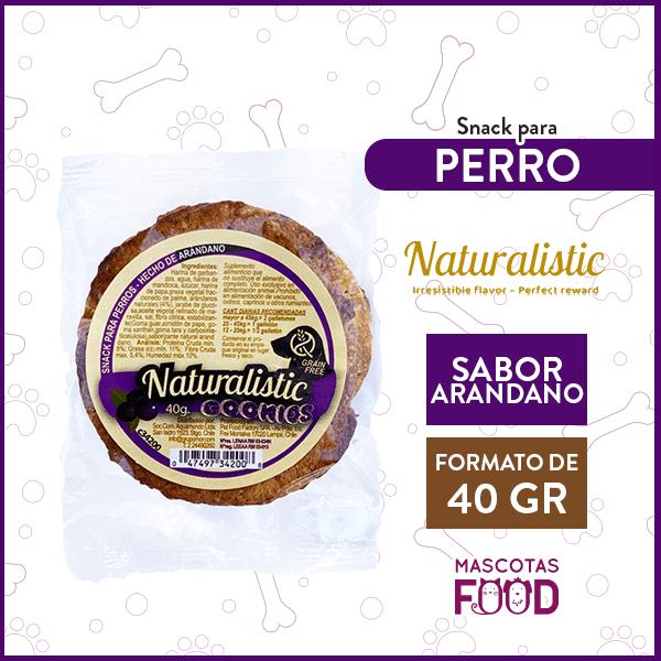 Galleton para Perro Naturalistic sabor Arándano 1