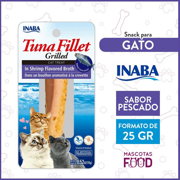 Snack para Gatos Inaba sabor Pescado 25grs. 1