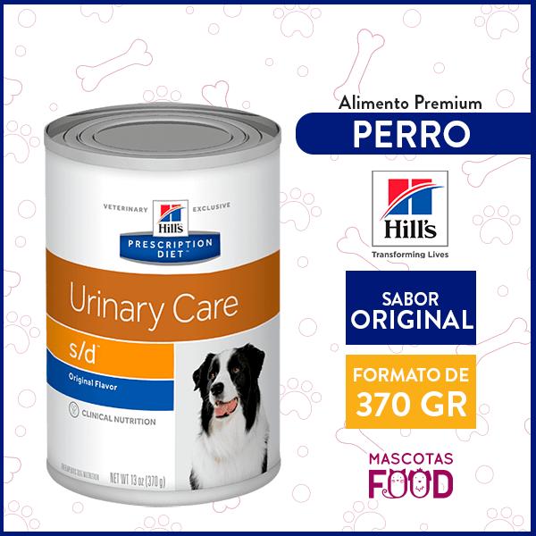 Alimento húmedo para Perro Adulto Cuidado Urinario Hill's sabor Original 370grs. 1