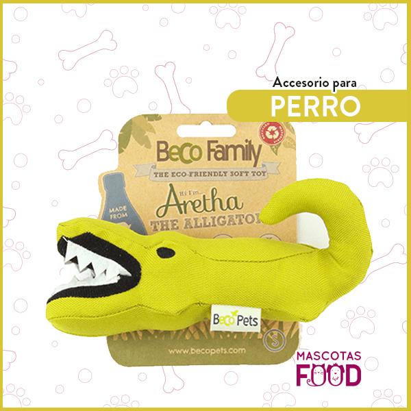 Aretha el Cocodrilo BecoFamily para Perros 1