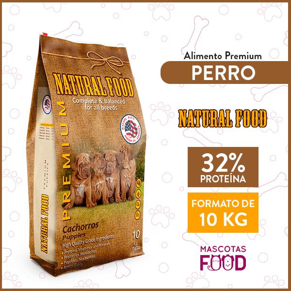 Alimento Cachorro Natural Food 10 KG 1