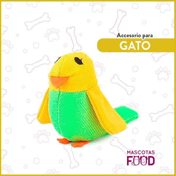 Bertie el canario con Catnip BecoFamily para Gatos 2