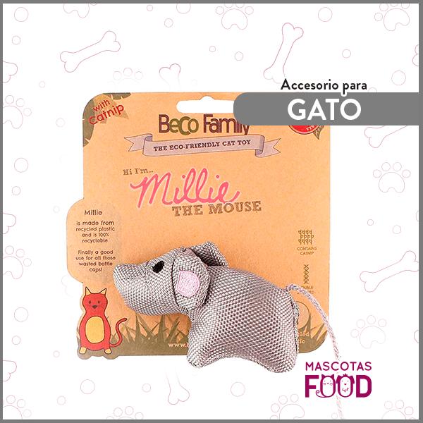 Millie la Ratona con Catnip BecoFamily para Gatos 1