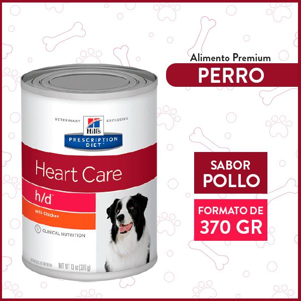 Alimento húmedo para Perro Adulto Cuidados Cardiaco 370grs. 1