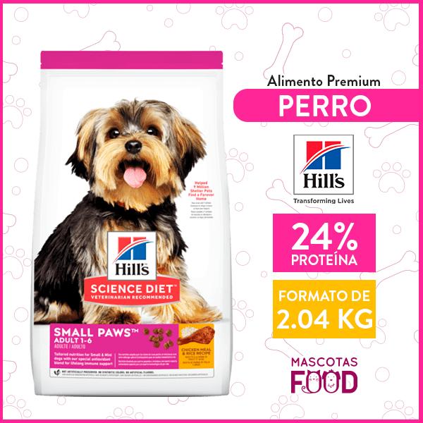 Alimento para Adulto raza pequeña Hill's sabor Pollo 2.04 KG 1