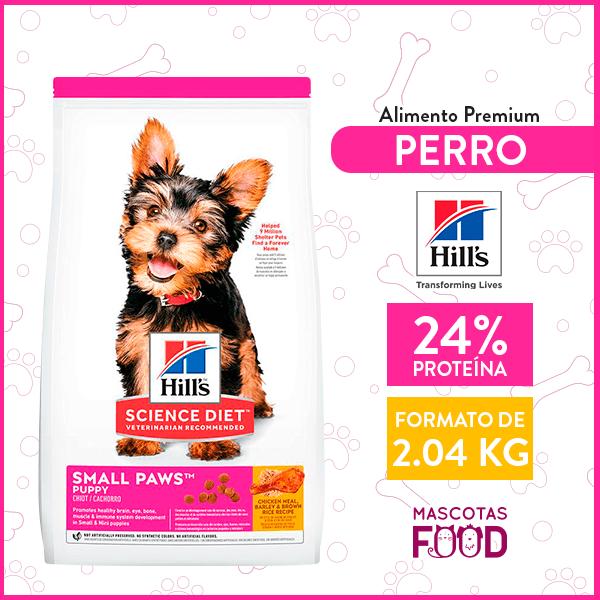 Alimento para Cachorro raza pequeña Hill's sabor Pollo 2.04 KG 1