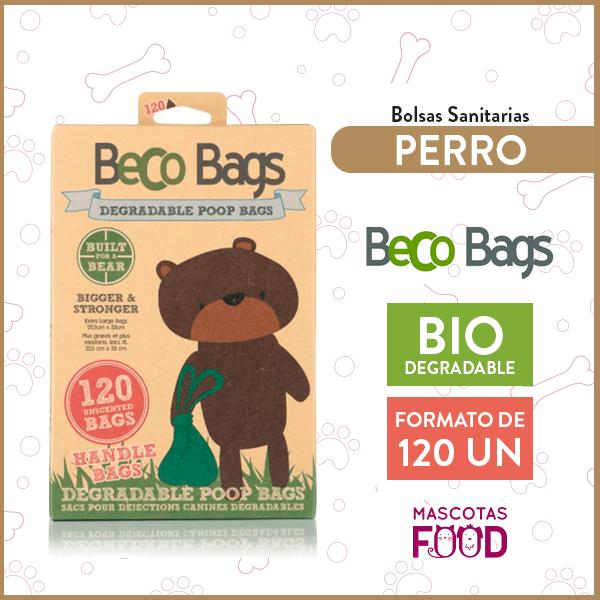 Bolsas Biodegradables Beco Bags 120 unidades Handle Bags 1