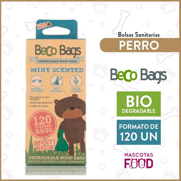 Bolsas Biodegradables Olor menta Beco Bags 120 unidades en rollos 1