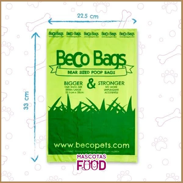 Bolsas Biodegradables Beco Bags 60 unidades en rollos 2