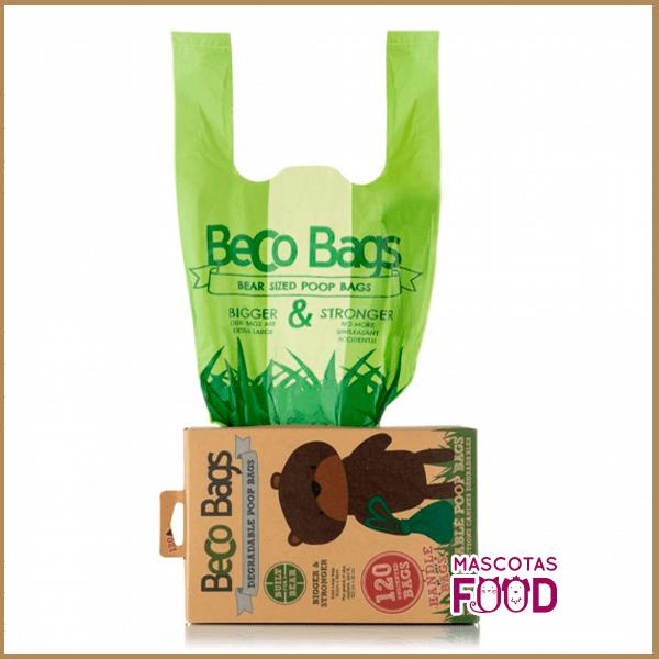 Bolsas Biodegradables Beco Bags 120 unidades Handle Bags 2