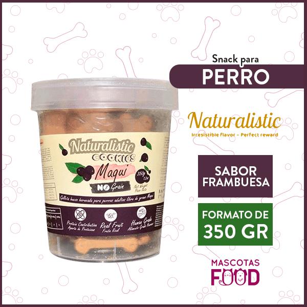 Galletas para Perro Naturalistic sabor Maqui 350grs. 1