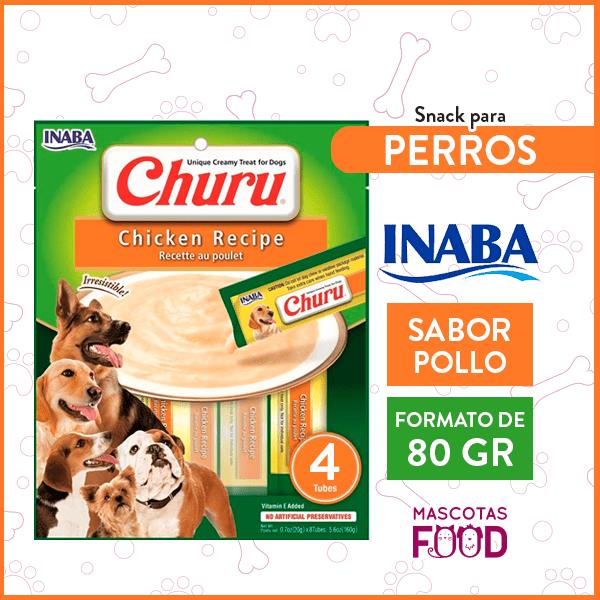 Snack para Perros INABA CHURU Sabor Pollo 80GRS. 1