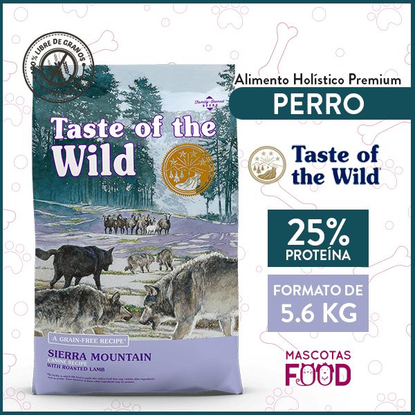 Alimento Perro Adulto Taste of the Wild Sierra Mountain Sabor Cordero 5.6 KG 1