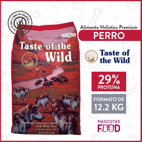 Alimento Perro Adulto Taste of the Wild Southwest Canyon Sabor Jabalí 12.2 KG 1