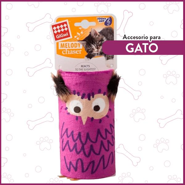 Tubo melódico para Gatos Buho GiGwi 1
