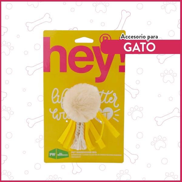 Juguete para gatos Pom Pom Cintas Hey! 1
